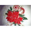 供应  平纹尼印花布 各式水果花餐桌布面料