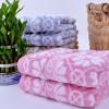 竹纤维米字格毛巾